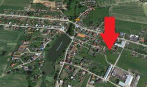 Stavební pozemek ve Štěpánovicích u Č. Budějovic
