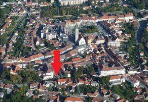 Pronájem menšího bytu 2+kk v Soběslavi