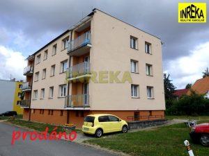 Zděný byt 3+1/B v Černovicích u Tábora