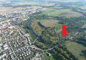 pozemek s chatou 673 Soběslav let 1