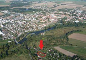 pozemek s chatou 673 Soběslav let 2