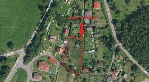 pozemek s chatou 673 Soběslav let 3